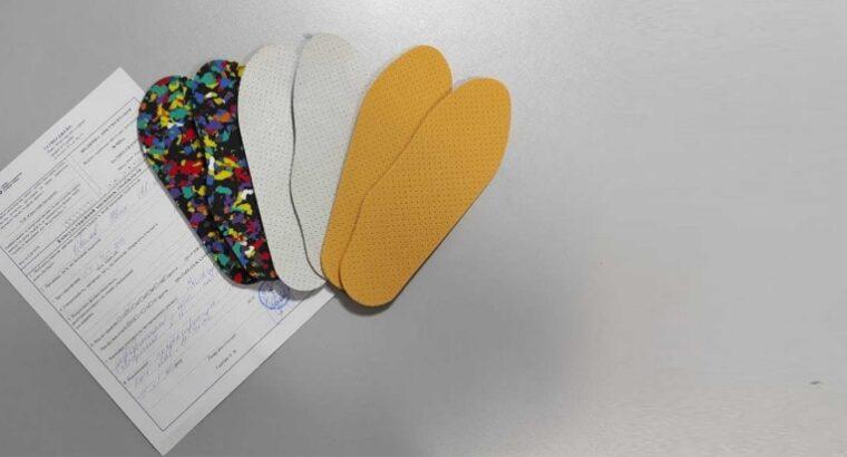 В клинике «OrtoSano» проведен отбор поставщиков материалов для заготовок ортопедических стелек